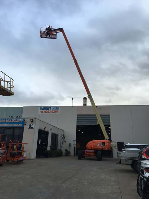 JLG 660sj for hire